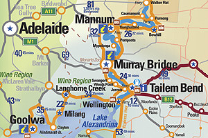 Adelaide to Tailem Bend